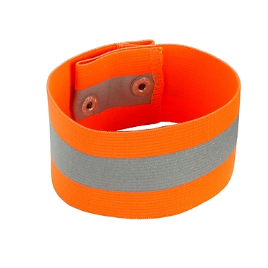 Ergodyne® GloWear® 8001 Hi-Visibility Arm/Leg Band, Orange, Small/Medium