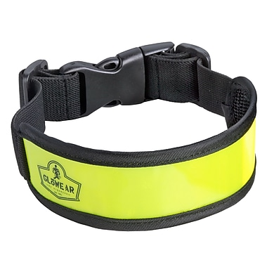 Ergodyne® GloWear® 8003 Lime Elastic Arm/Leg Band, One Size