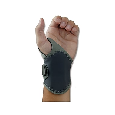 Ergodyne® ProFlex® 4020 Lightweight Wrist Support With Open Center Stay™, Gray, Large/XL Left