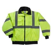 Ergodyne® GloWear® 8379 Lime Class 3 Hi-Visibility Economy Bomber Jackets