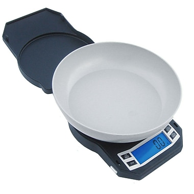 American Weigh Scales LB Compact Kitchen Bowl Scale, Black