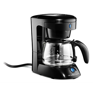 Andis® 4 Cup Coffee Maker With Glass Carafe, Black