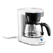 Andis® 4 Cup Coffee Maker With Glass Carafe, White