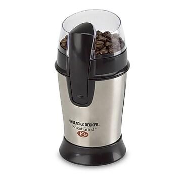 Black & Decker® Smartgrind Coffee Bean Grinder, 4 oz., Silver