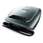 George Foreman® 8 Serving Classic Plate Grill, Silver