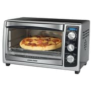 Applica™ Black&Decker® 6 Slice Countertop Convection Toaster Oven, Black