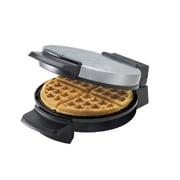 Black & Decker® Belgian Round Waffle Maker, Silver