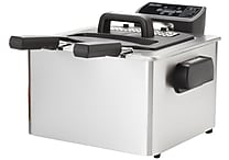 Aroma® SmartFry XL™ 4 qt. Stainless Steel Deep Fryer