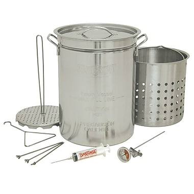 Barbour International Bayou Classic 32 qt. Stainless Steel Stockpot