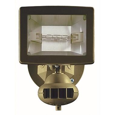 Brinkmann® Home Security Halogen Motion Detector Light, Bronze