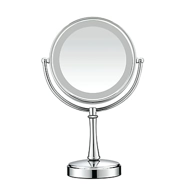 Conair® Polished Chrome Touch Control Lighted Makeup Mirror