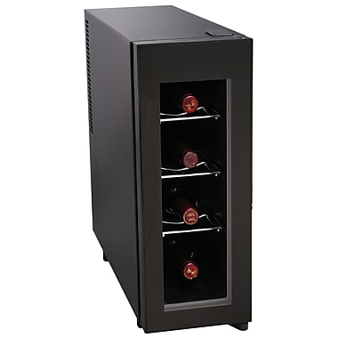 Igloo® Vertical Wine Cooler, 4 Bottle, Black