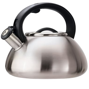 Primula® Avalon 2.5 qt. Whistling Kettle, Brushed Stainless Steel