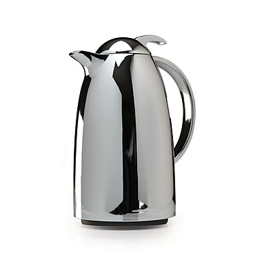 Primula® PECS-5310 1 Liter Thermal Carafe With Glass Lining, Chrome