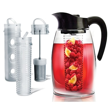 Primula® PF-3725 2.9 qt. Flavor It Pitcher 3-in-1 Beverage System, Black