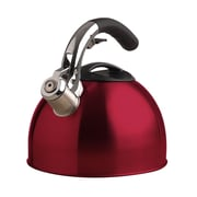 Primula® PTK-6330 3 qt. Soft Grip Whistling Tea Kettle, Red