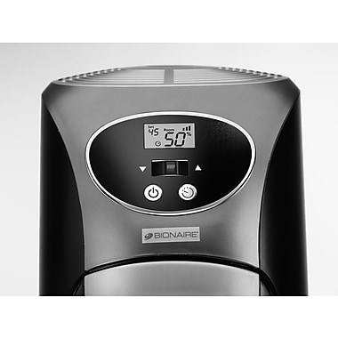 Jarden Home Environment BCM646C-UM Bionaire Cool Moisture Tower Humidifier, Black