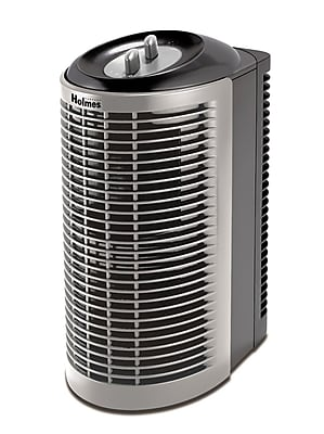 Holmes HEPA-Type Mini Tower Air Purifier, Black 44899