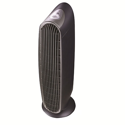 Kaz Honeywell HEPAClean Tower Air Purifier, Charcoal Gray/Silver 45050