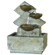 Kelkay® easy fountain® 215 mm Lodore Fountain, Gray