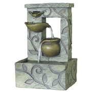 Kelkay® easy fountain® 230 mm Linton Fountain, Gray