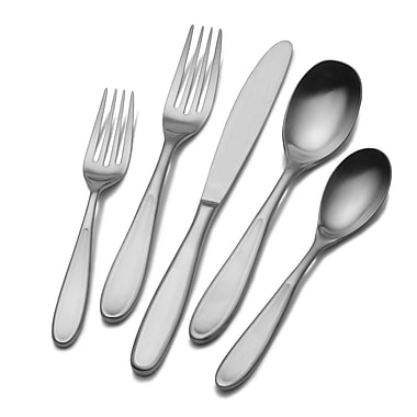 Lifetime Brands Towle Living Contour Flatware Set, 42 Piece/Set