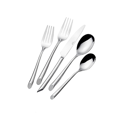 Lifetime Brands Towle Wave Forged Flatware Set, 20 Piece