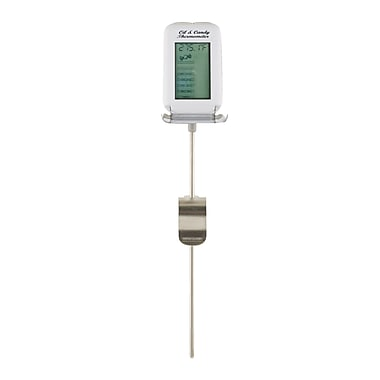 Maverick® Oil/Candy/Fryer Digital Thermometer, White