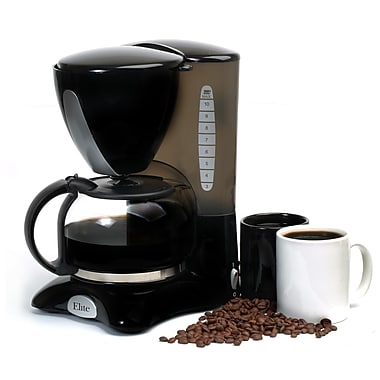 Elite 10 Cup Coffee Maker, Black