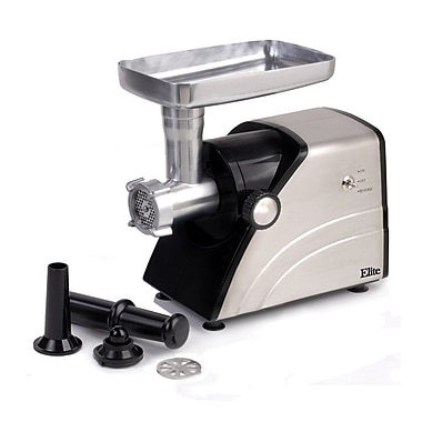Maxi Matic® Elite Platinum 550 W Meat Grinder, Stainless Steel