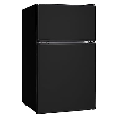 Midea® HD-113 3.1 cu. ft. Double Door Refrigerator and Freezers