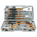 Mr. Bar-B-Q® Gourmet Stainless Steel Tool Set, 18 Pieces/Set