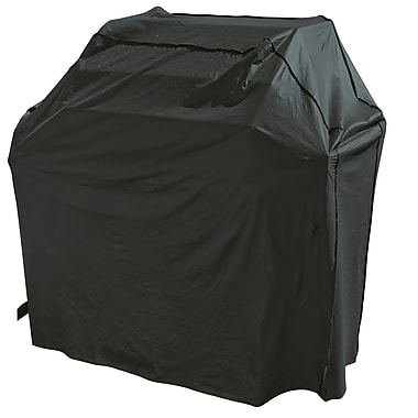 Mr. Bar-B-Q® Backyard Basics™ Grill Cover, Black, Small