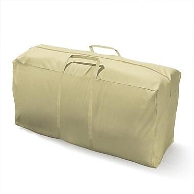 Mr. Bar-B-Q® Backyard Basics™ Patio Cushion Storage Bag, Off White