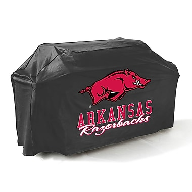 Mr. Bar-B-Q® Arkansas Razorbacks Grill Cover, Black