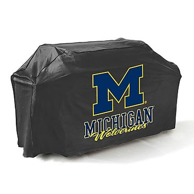 Mr. Bar-B-Q® Michigan Wolverines Grill Cover, Black