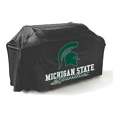 Mr. Bar-B-Q® Michigan State Spartans Grill Cover, Black