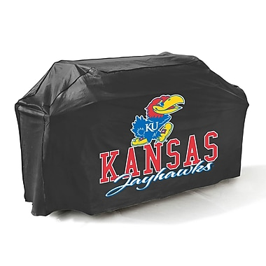 Mr. Bar-B-Q® University of Kansas Jayhawks Grill Cover, Black