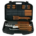 Mr. Bar-B-Q® 18 Piece BBQ Tool Set With Plastic Case