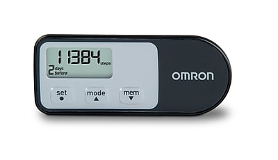 Omron Healthcare Tri Axis Hip Pedometer With Four Activity Modes