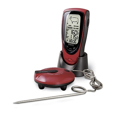 Oregon Scientific Grill Right Wireless Talking BBQ Thermometer