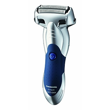 Panasonic® 3-Blade Wet/Dry Shaver With Arc Foil and Water Shutters, Silver
