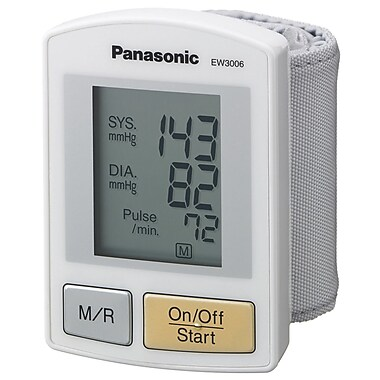 Panasonic® EW3006S Wrist Blood Pressure Monitor