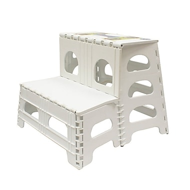 Range Kleen® Nonslip Two Step Stool, 300 lbs.