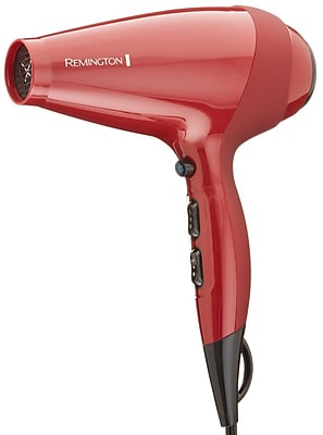 Remington TStudio Silk Ceramic 1875 W Ionic AC Professional Hair Dryer, Red