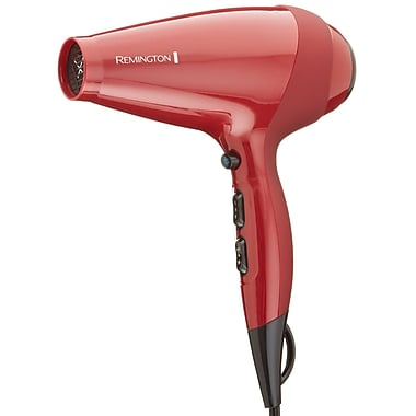 Remington® TStudio Silk Ceramic 1875 W Ionic AC Professional Hair Dryer, Red