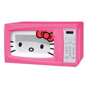 Sakar® Hello Kitty 700 W Countertop Microwave Oven, Pink