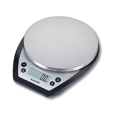 Salter Aquatronic® Electronic Kitchen Scale, Black Base