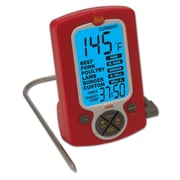 Taylor Weekend Warrior Remote Probe Cooking Thermometer/Timer, Red