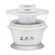T-fal® 1 qt Ice Cream Maker With Recipes Book, White